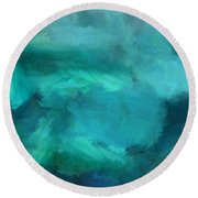 Ocean 5 Round Beach Towel
