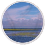 Ocean City Maryland Round Beach Towel
