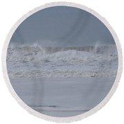 Ocean Curl Round Beach Towel