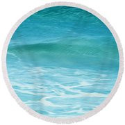 Ocean Lullaby Round Beach Towel