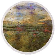 Ocean Morning I  Round Beach Towel