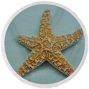 Ocean Star Fish Round Beach Towel