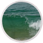 Ocean Wave 2 Round Beach Towel