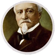 Octave Chanute (1832-1910) Round Beach Towel