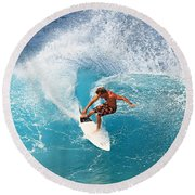 Off The Wall - North Shore Round Beach Towel