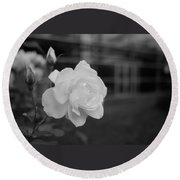 Office Roses Round Beach Towel