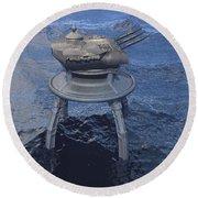 Offshore Turret Round Beach Towel