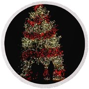 Oh Christmas Tree Oh Christmas Tree Round Beach Towel