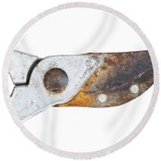 Old Clippers Round Beach Towel by Michal Boubin