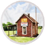 Old Country Cotton Gin Store -  South Carolina - I Round Beach Towel