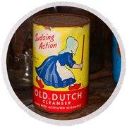 Old Dutch Round Beach Towel