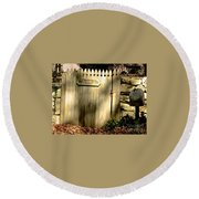 Old Windways Farm Round Beach Towel