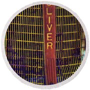 Oliver Twisted Round Beach Towel