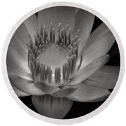 Om Mani Padme Hum Hail To The Jewel In The Lotus Round Beach Towel