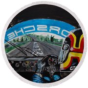 On Board Stefan Belloff Nurburgring Record Round Beach Towel