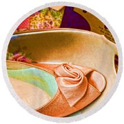 On Display Antique Store 1 Round Beach Towel
