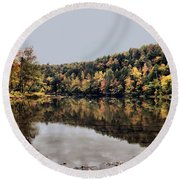 On The River Two Round Beach Towel