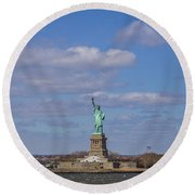 One Nation... Round Beach Towel