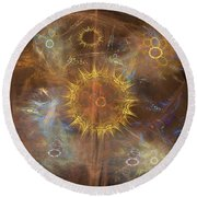 One Ring To Rule Them All - Square Version Round Beach Towel