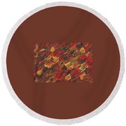 One Way Traffic Round Beach Towel