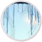 Ontario Freeze Round Beach Towel