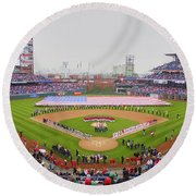 Opening Day Ceremonies Featuring Round Beach Towel