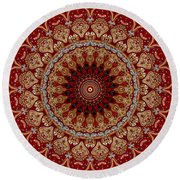 Opulent No. 1 Round Beach Towel