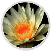 Orange Glow   # Round Beach Towel
