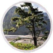 Oregon - Heceta  Round Beach Towel