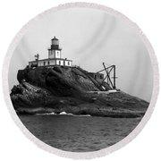Oregon Tillamook Lighthouse - 1891 Round Beach Towel