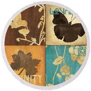 Organic Nature 3 Round Beach Towel