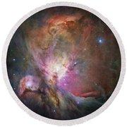 Space Hollywood 2 - Orion Nebula Round Beach Towel