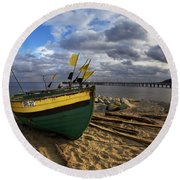 Orlowo Round Beach Towel