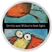 Orville And Wilburs First Flight Round Beach Towel
