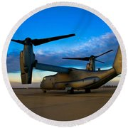 Osprey Sunrise Series 1 Of 4 Round Beach Towel