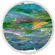 Osterlen Round Beach Towel