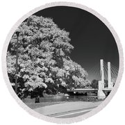 Osu Campus 9216 Round Beach Towel