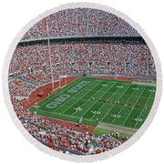 36l456 Osu Stadium Round Beach Towel