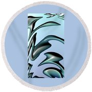 Other Worlds 09 Round Beach Towel
