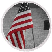 Our Colors Round Beach Towel