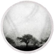 Our Moment In Patience Round Beach Towel by Brett Pfister