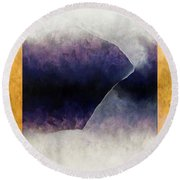 Ouroboros Three Blue, 2010 Round Beach Towel