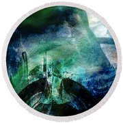 Out Of Eden Round Beach Towel