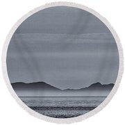 Outer Hebrides Round Beach Towel