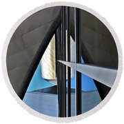 Outer Space 2 Round Beach Towel