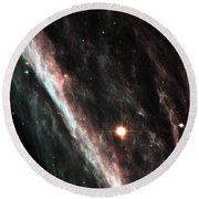 Outer Space Three One Six Round Beach Towel