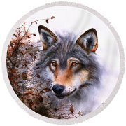 Outlawed Round Beach Towel