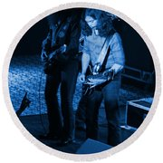Outlaws #18 Blue Round Beach Towel
