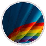 Over The Rainbow Round Beach Towel