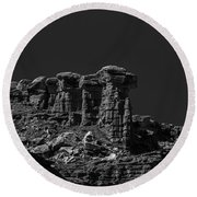 Overlook Round Beach Towel
